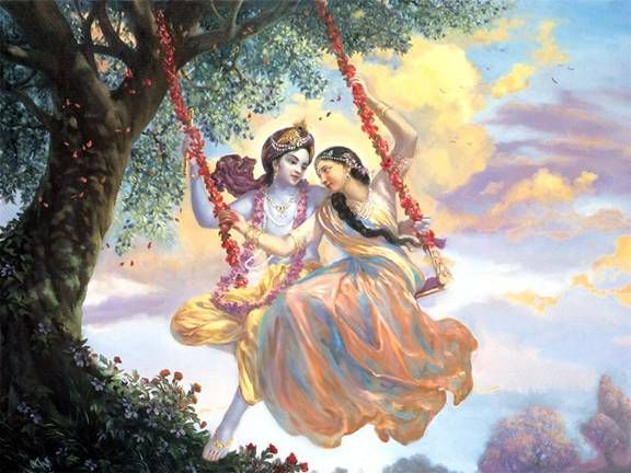 Lord Krishna & Radha